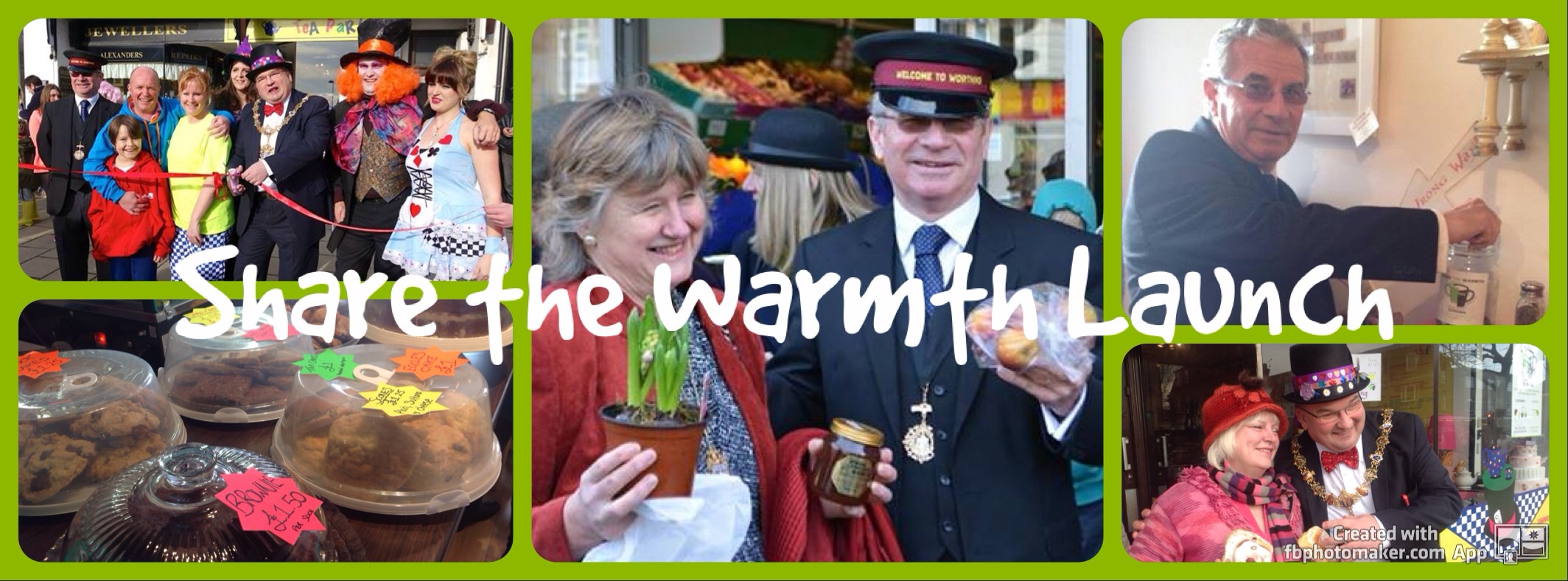 Share the warmth launches in Worthing